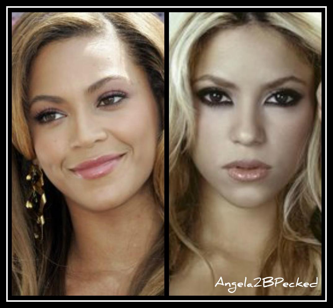 Beyonce and Shakira | Hollywood Twins
